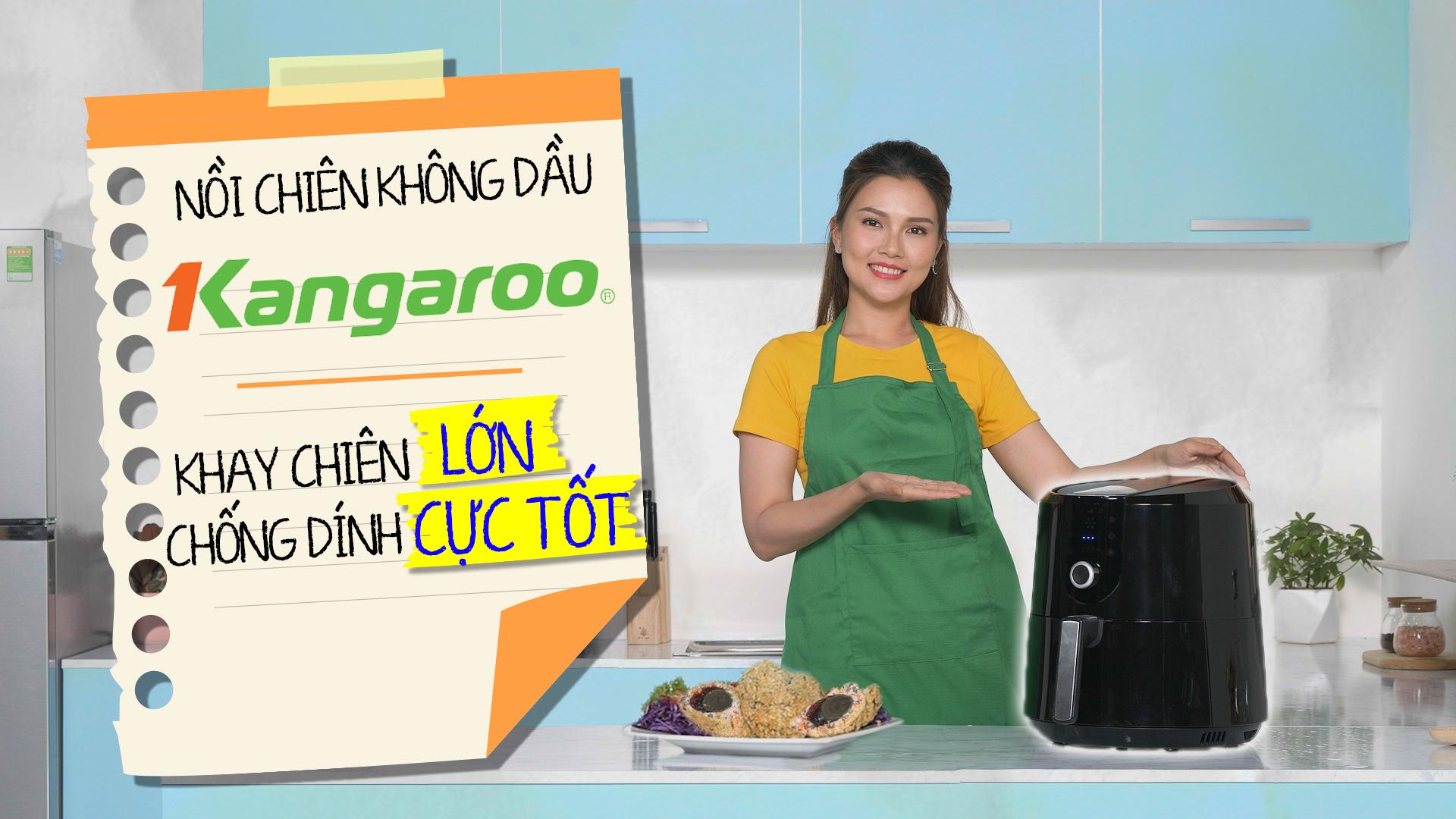 Nồi chiên không dầu Kangaroo KG55AF1A 4.7 lít